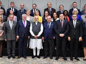 EU delegates kashmir afp