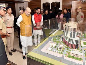 Amit Shah inaugurates New Police Headquarters building in Delhi