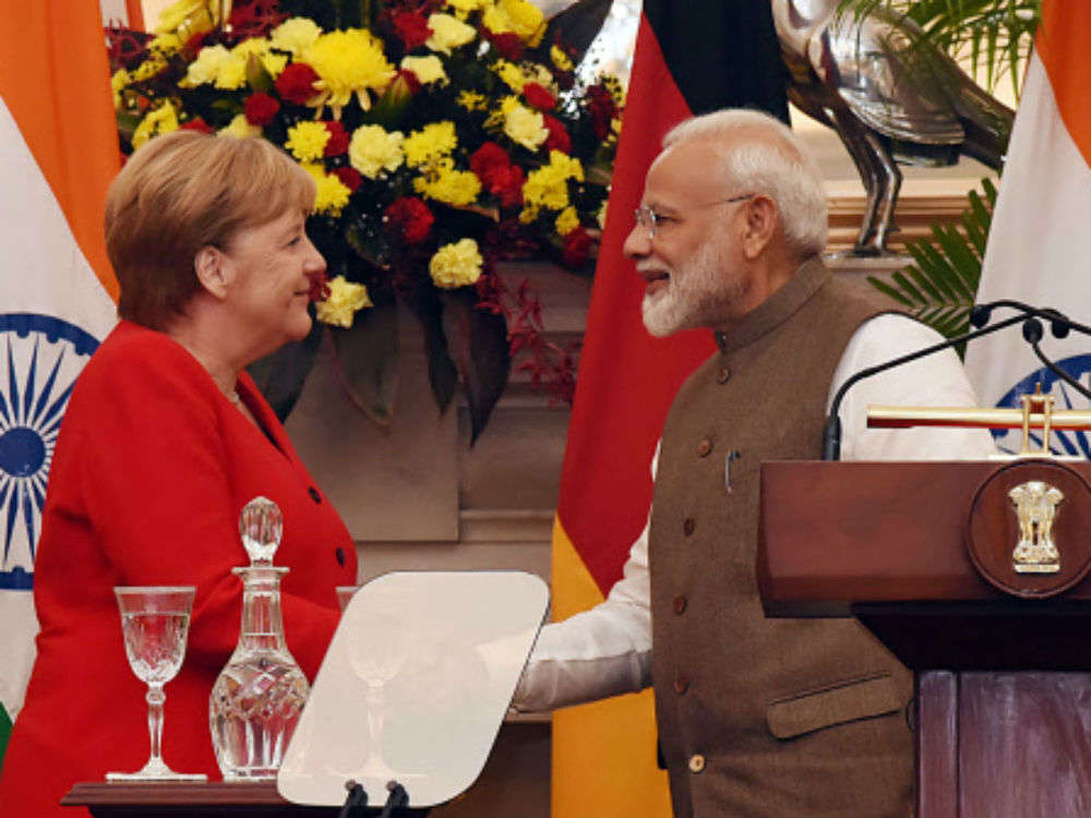 India and Germany sign 17 MoUs, five joint declarations of intent exchanged