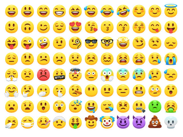 Back to the future with emojis