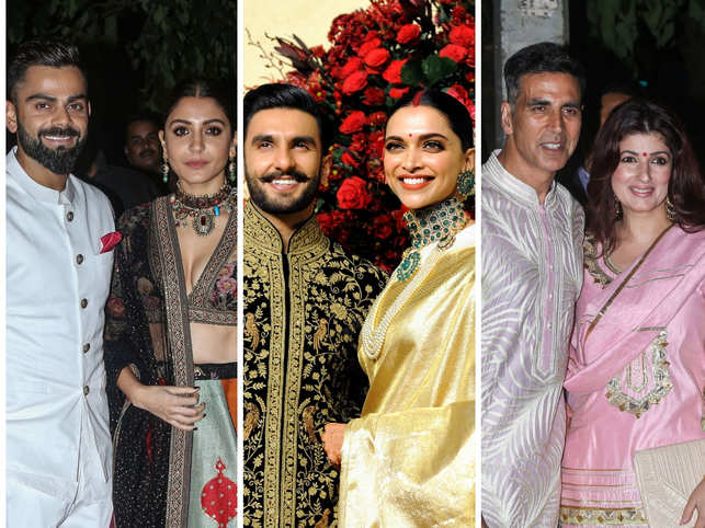 ​From left: Virushka, DeepVeer and AksTwink rate high on attributes such as trustworthiness, respect, stylish and being different.​
