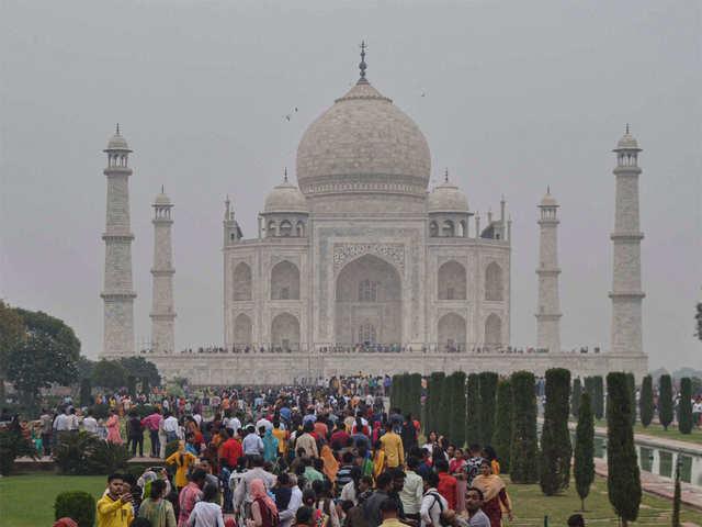As smog increases in North India, Taj Mahal gets an air purifier