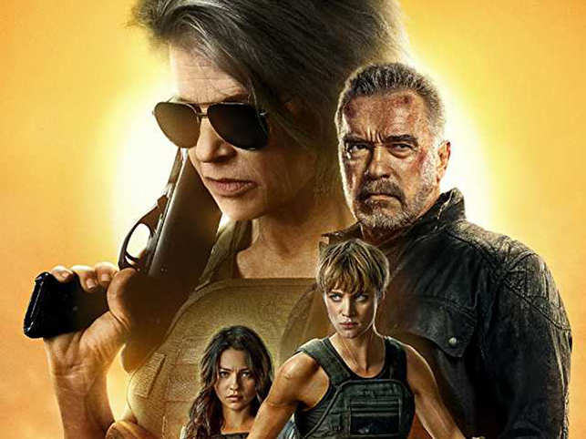 'Terminator: Dark Fate' opened atop the North American box office this weekend with an estimated take of $29 million.