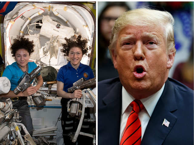 Ask Dr D: Astronauts Koch and Meir want to know how to respond to a disgruntled Trump