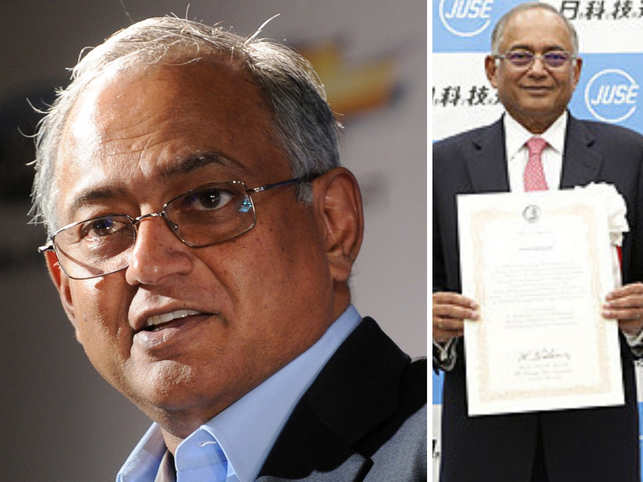 Venu Srinivasan was in Tokyo to receive the honour.
