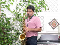 All that sax(ophone) helps Nitish Mittersain think creatively at work