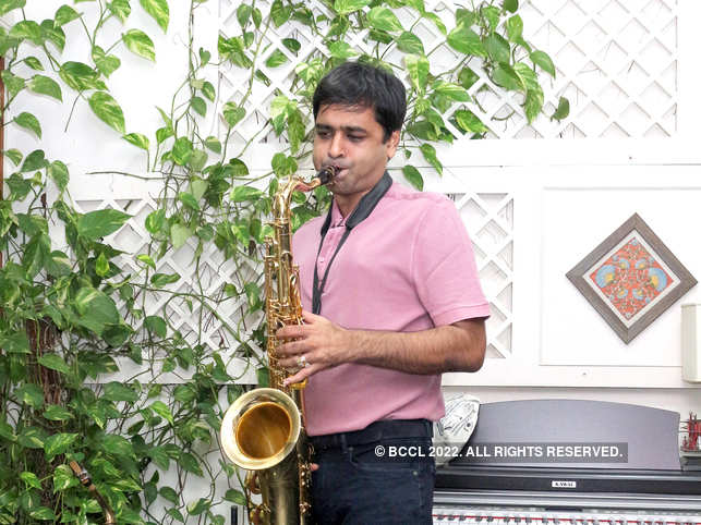 Nitish Mittersain has been hooked onto the sax since he first picked up the instrument at the age of 16.