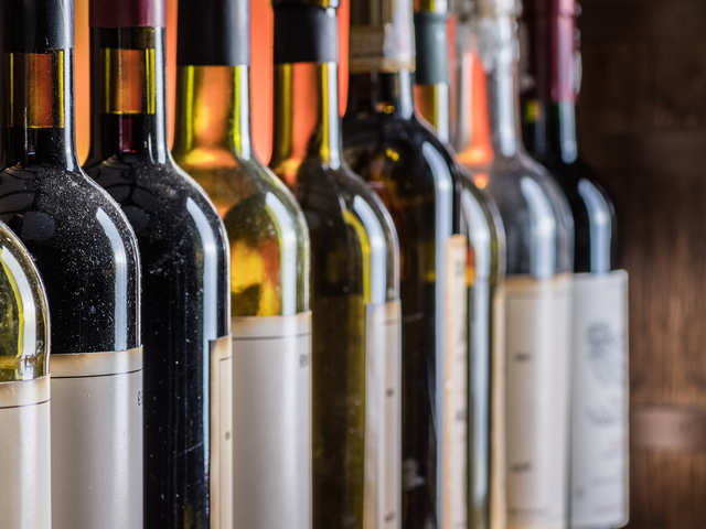 Sky-high price for space-returned wines?