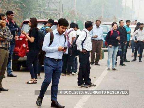 Gurugram coping with Delhi's odd-even