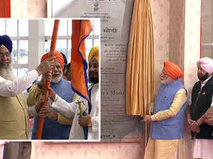 PM Modi inaugurates Kartarpur Sahib Corridor, flags off first jatha of pilgrims