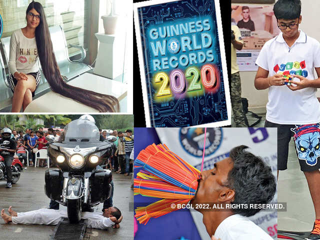 Guinness World Records 2020 List.Indians Who Made It To The List Of Guinness World Records