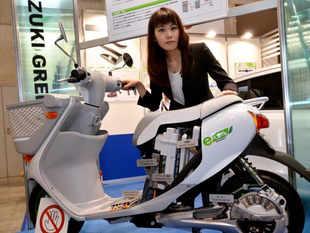 suzuki e-scooters getty