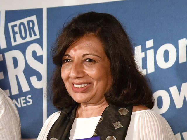 A billion-dollar dream: Kiran Mazumdar-Shaw feels agriculture sector will be big in India, abroad