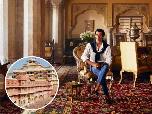 Live life king size at $8k: Padmanabh Singh opens up a suite at Jaipur's City Palace to guests, becomes Airbnb's first royal host