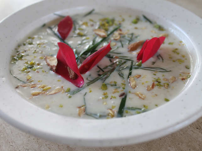 With the flavour of paan and essence of rose, this delicious rice kheer preparation will be a hit with the family.