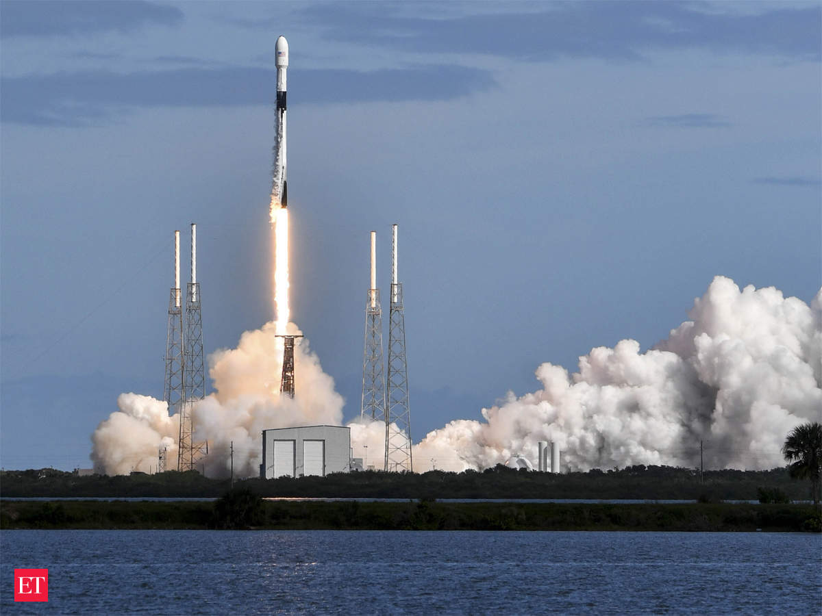 Image result for SpaceX launches 60 mini satellites for cheaper global Internet