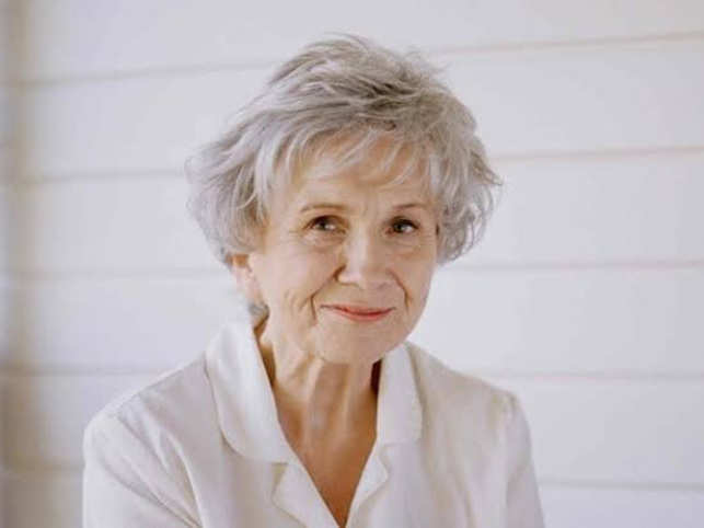 It was falsely-declared on Monday that Alice Munro had passed away.