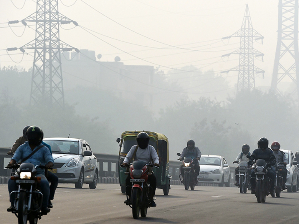 Delhi's key air polluter is not stubble-burning. It's two-wheelers, and their numbers are soaring.