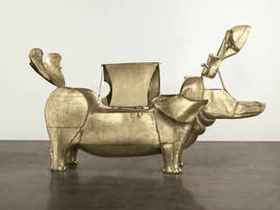 The tub was among the quirkier items offered during the semiannual auction week that's short on major works but includes more unusual pieces and overlooked artists.