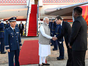 PM Modi arrives in Brazil for BRICS summit; to meet Putin, Xi Jinping