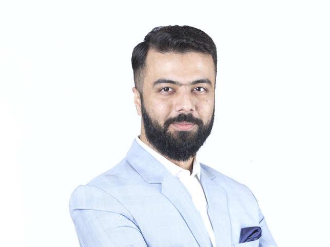 Ashutosh Valani, founder of men's grooming brand Beardo, sports a full beard year-round.