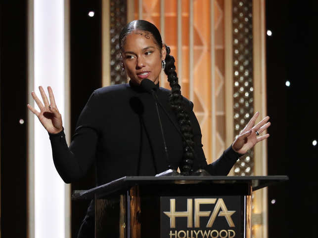 Alicia Keys said she initially thought it was a one-time thing, but when the opportunity came back around, there was no question about returning as host.