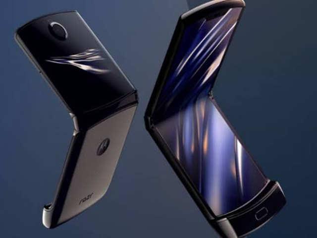 All About Moto Razr Motorola S New Foldable Phone The All New Moto Razr The Economic Times