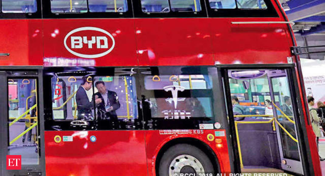 After electric buses, China's BYD wants to sell electric cargo vehicles in India