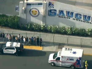At least three injured after shooting at California school, gunman sought