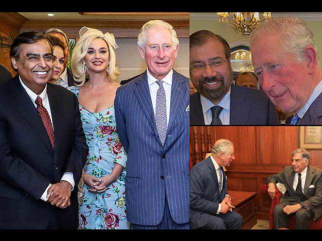 Bigwigs of India Inc and Katy Perry celebrate Prince Charles's 71st birthday in Mumbai.