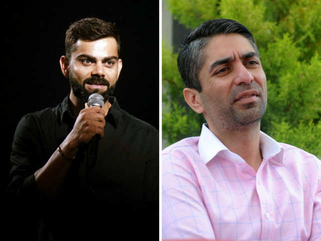 Virat Kohli (L) and Abhinav Bindra (R) spoke about the mental health challenges they faced in their respective careers.