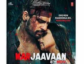 Sidharth Malhotra-starrer 'Marjaavaan' off to a decent start, earns Rs 7.03 cr on opening day