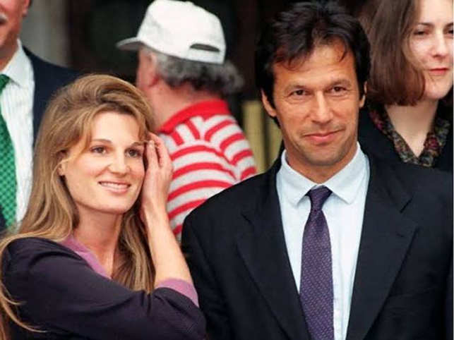 Jemima Khan (L) posted a tweet about the comment of Pakistan media.