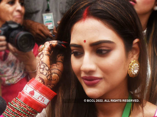 Nusrat Jahan has been admitted to the hospital due to respiratory problem.
