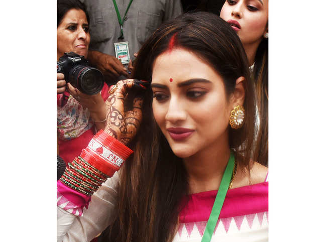 Nusrat Jahan, who underwent treatment at the ICU, was elected from the Basirhat Lok Sabha seat this year.