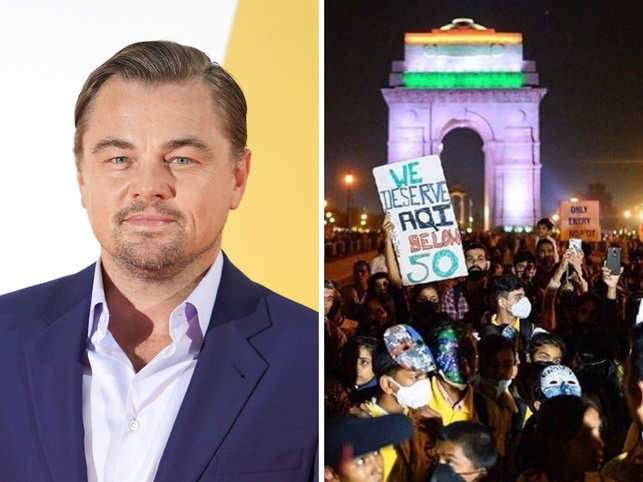 Leonardo DiCaprio posts about Delhi's #RightToBreathe protest; says 'air pollution the 5th-largest killer in India'