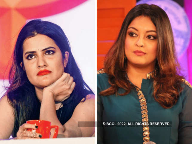 In an Instagram post, singer Sona Mohapatra (left) lauded Tanushree Dutta (right) for speaking up against Anu Malik.