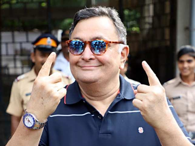"""""""I am tired of saying this... acknowledge the role of artistes and cinema in the country. But they land on deaf ears"""", Rishi Kapoor said."""