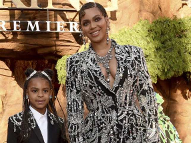 Blue Ivy Carter won an award for co-writing her mom's hit 'Brown Skin Girl', a song celebrating dark- and brown-skinned women.