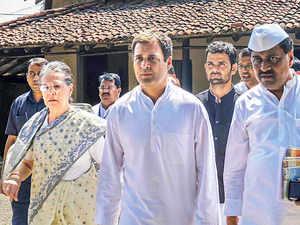 Rahul&SoniaGandhi.PTI