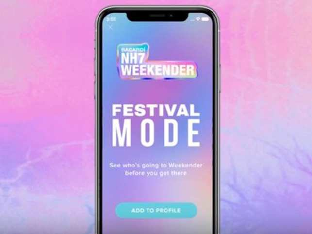 The 'Festival Mode' will make its debut at the NH7 Weekender in Pune.