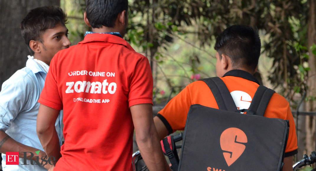 Zomato denies merger talks with rival Swiggy - Economic Times thumbnail
