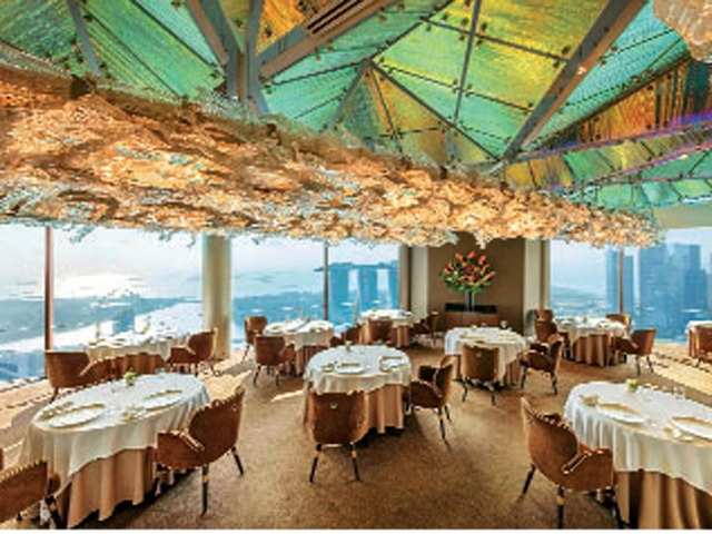 Dining with a view: Step on an acme of culinary creativity and immerse in the breath-taking views