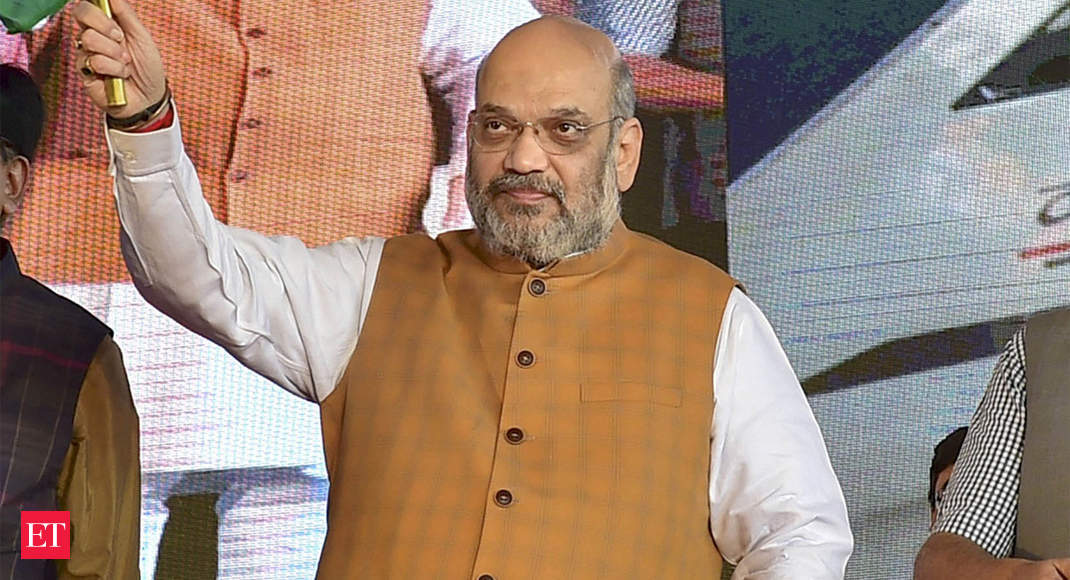 Internet in Kashmir after local admn feels it is fit to do so: Amit Shah