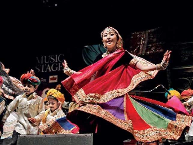 A fine mix: The Jaipur Literature Festival features literature, art installations and mesmerising music performances.