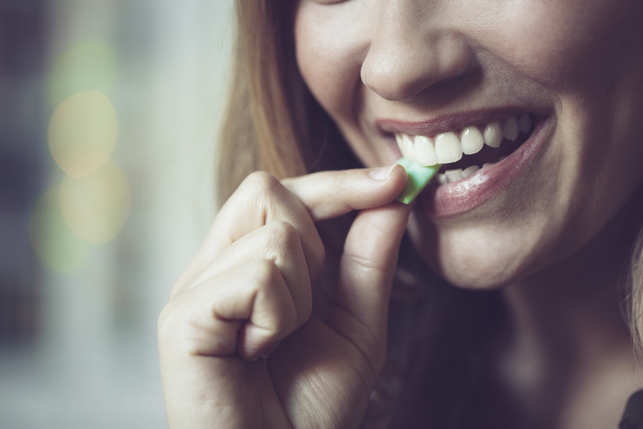 Chewing sugar-free gum has recently emerged as a possible supplement to existing prevention strategies.