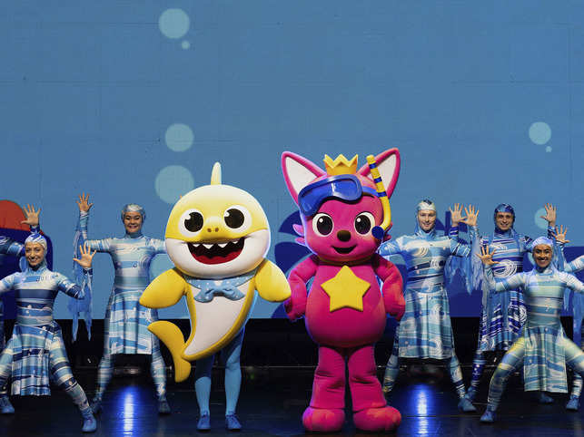 '​Baby Shark' took the world by storm last year when the song and video by Pinkfong went viral with the nursery-school set​.