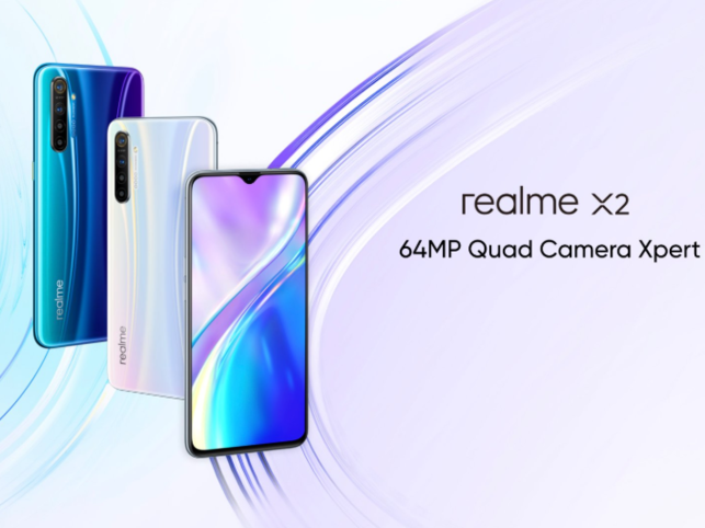 Realme X2 Pro is available in neptune blue and lunar white colours.