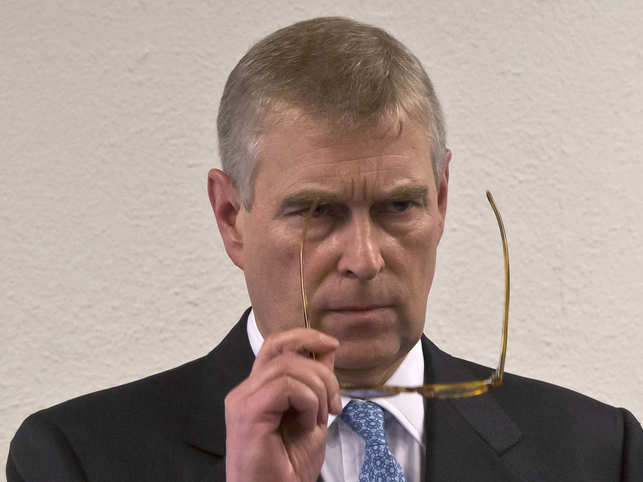 Prince Andrew said he was willing to help any law enforcement agency with an investigation.