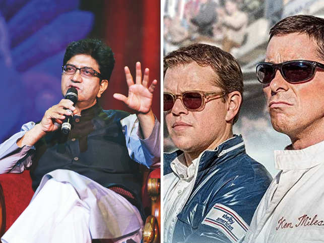 Reports last week claimed the CBFC had asked the makers to blur out images of liquor bottles and glasses with alcohol. (In pic: Prasoon Joshi on the left)